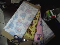tecidos utilizados nas roupas das bonecas
